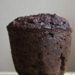 Czekoladowe dietetyczne muffinki z fasoli
