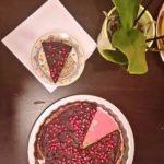 Owsiana tarta z czekoladowym kremem