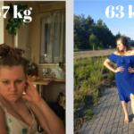 Jak schudłam bez znaczącej zmiany masy ciała?