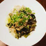 Wegańskie curry z bakłażanem