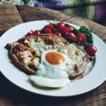 Śniadaniowe fit chachapuri
