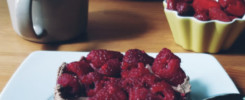 wegański śniadaniowy torcik